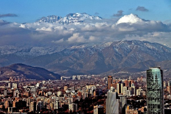 Santiago Chile kultura