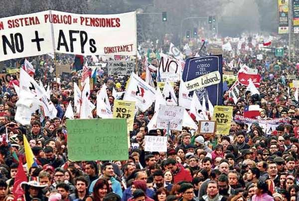 emerytury w Chile