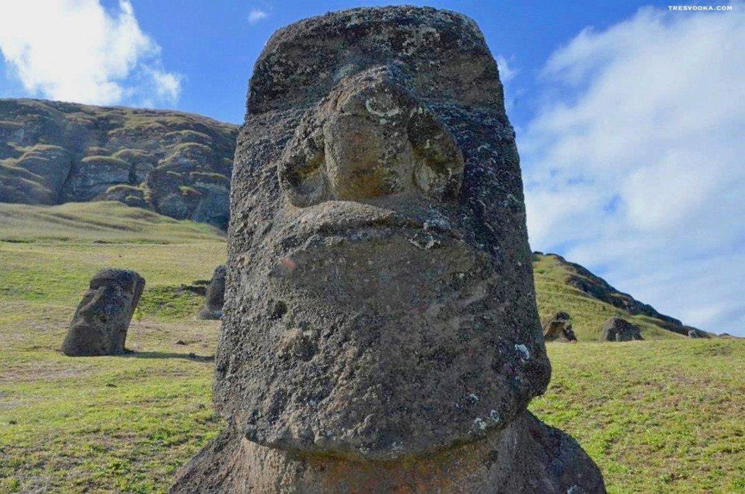 Chile - Wyspa Wielkanocna Moai - Monika Trętowska - Tresvodka