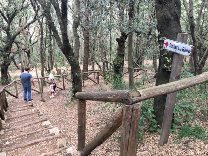 Vacanze a gaeta con i bambini, parco di monte orlando, trevaligie