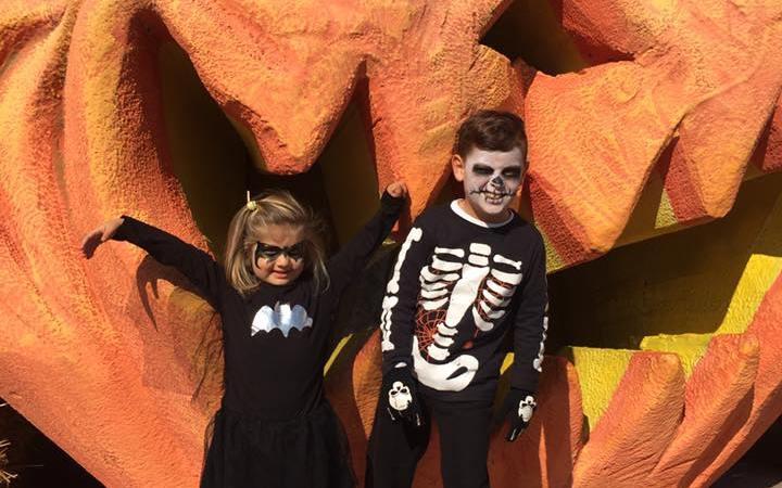 Festeggiare Halloween  a Gardaland con i bambini