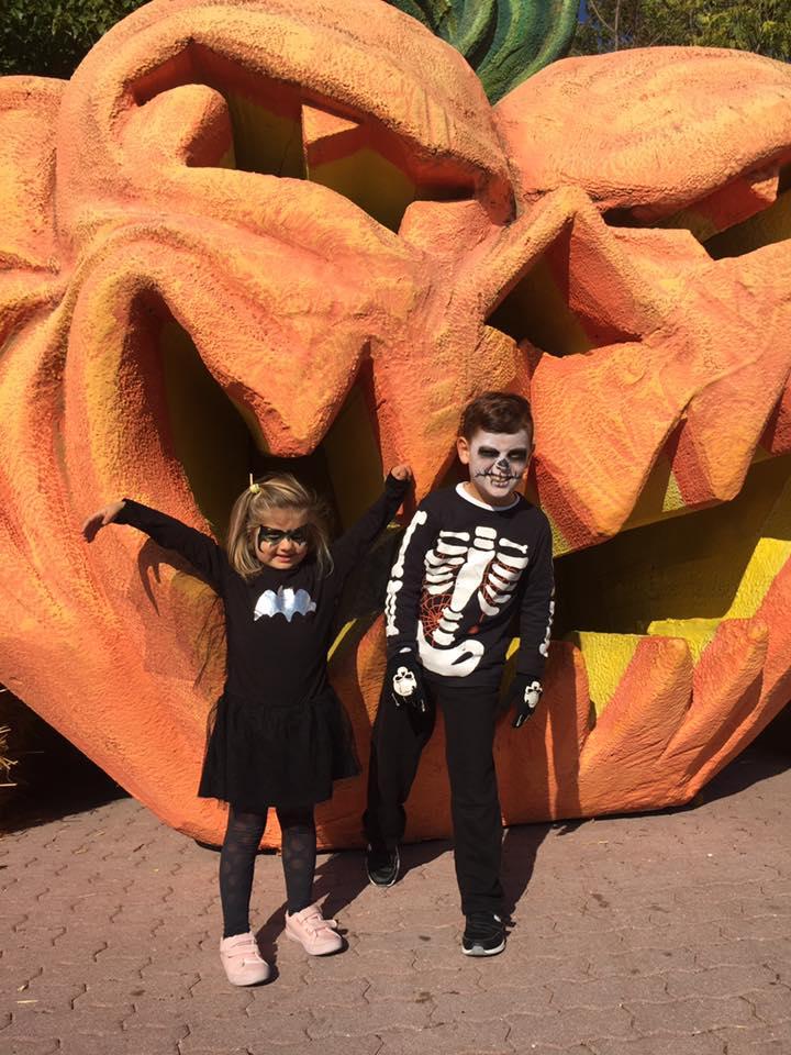 Gardaland, halloween, parco divertimenti, viaggio con i bambini, trevaligie