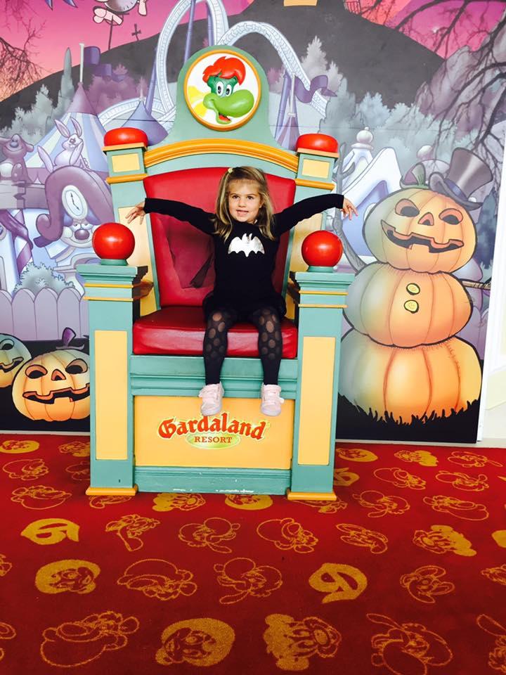 Gardaland, halloween a gardaland, parco divertimenti, viaggio con i bambini, trevaligie