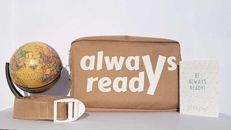 AlwaysReady: sempre pronti in viaggio con il Kit Viaggiatori
