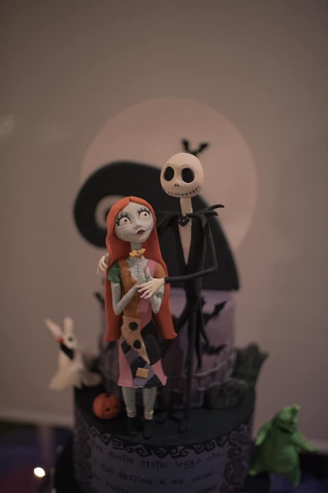 cake design, nightmare before christmas, halloween party, trevaligie