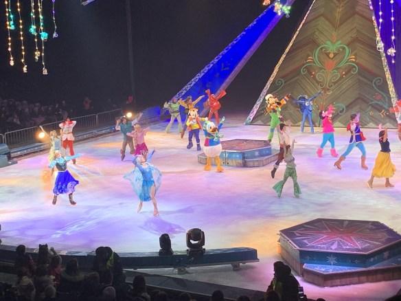 Frozen on ice, frozen, Roma, trevaligie