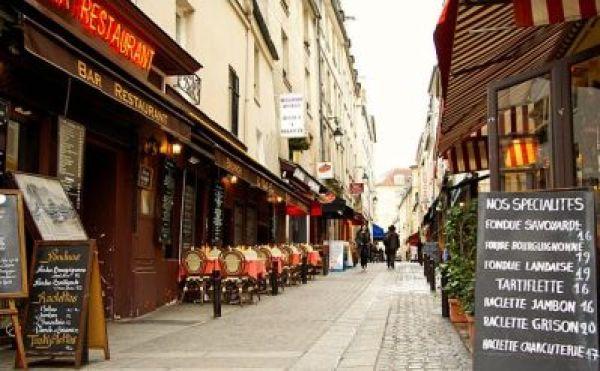 Rue mouffetard Parigi, il favoloso mondo di amelie, trevaligie