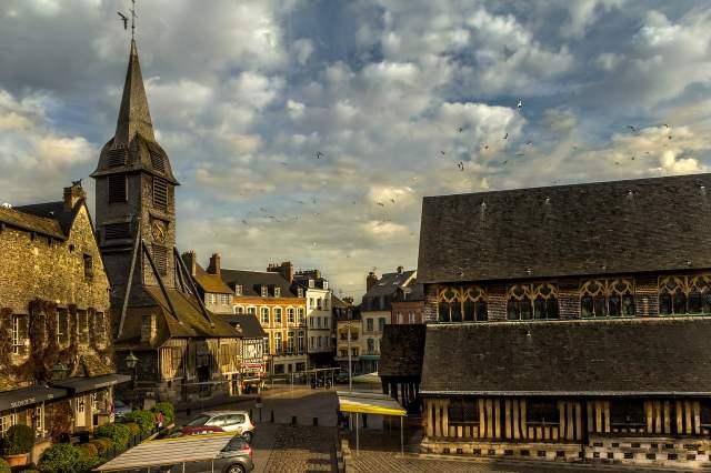chiesa santa caterina honfleur, viaggio in normandia, trevaligie