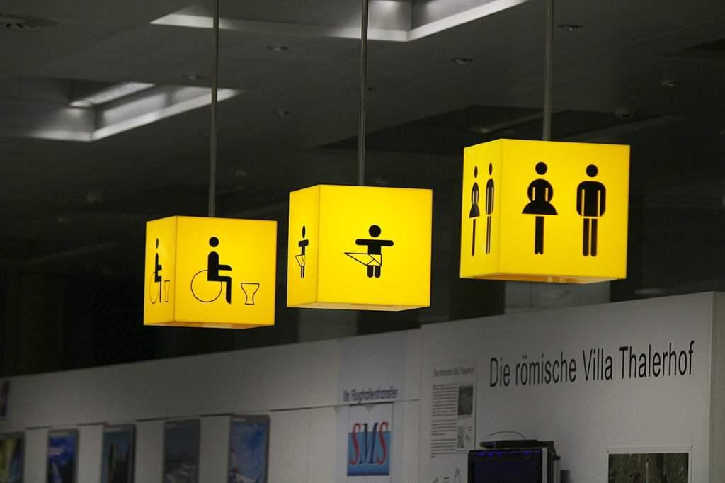 Usare i bagni pubblici in tutta sicurezza, trevaligie