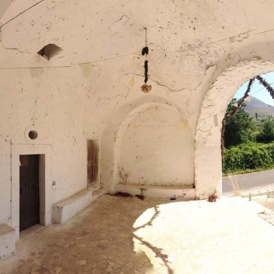 La Cappella della Madonna dle Longato, in località Colle a Gaeta