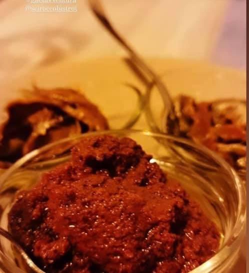 La nostra cena degustazione da Scirocco Bistrot, a base di prodotti tipici locali.