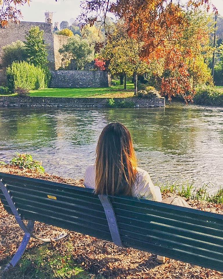 Borghetto sul Mincio è stupenda in ogni stagione, ma l'autunno regala colori davvero pazzeschi.