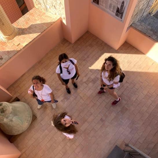 Le quattro blogger protagoniste di Gaetavventura sono salite fin su la cima del Campanile del Duomo, rimanendo estasiate dalla meravigliosa vista a 360° sulla città di Gaeta.