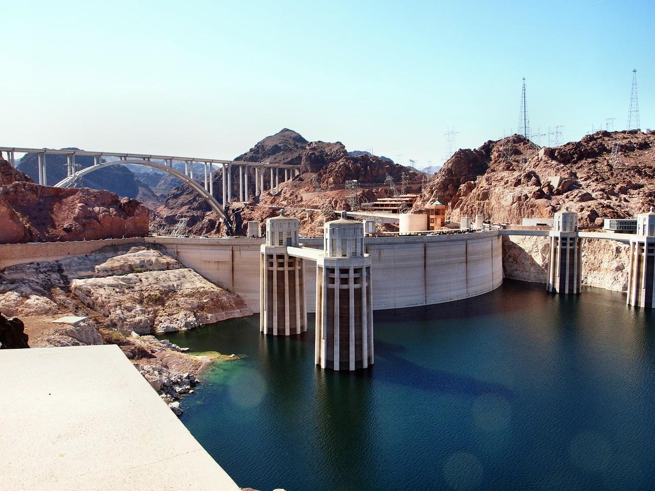 Uno dei posto da vedere nelle vicinanze di Las Vegas è la diga di Hoover. Una maestosa struttura ingegneristica statunitense.