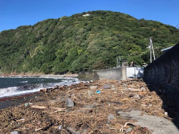 井田02台風21号の被害