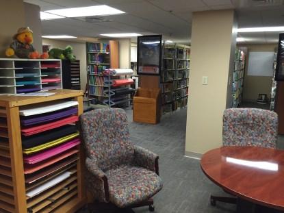 New Mackey student teacher library