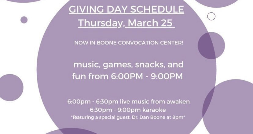 Trevecca to host first Giving Day