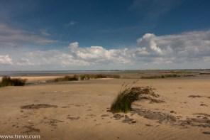 Beach scene near Parc Ornithologique.