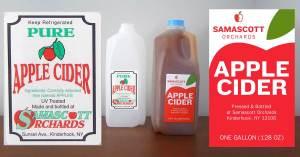 Food Label Design: Redesigned Apple Cider Label