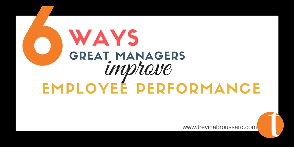 The Best Way to Improve Employee's Performance