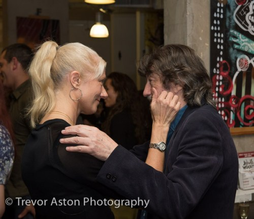 Joely Richardson Trevor Nunn The War of the Roses event photograph Kingston