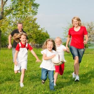 Trevor Gunn - Healthy family