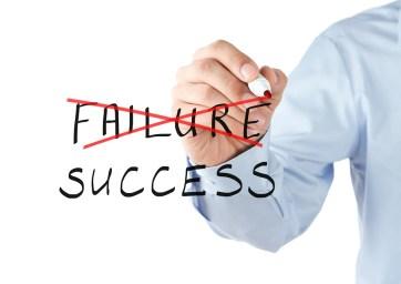 Choosing between failure and success