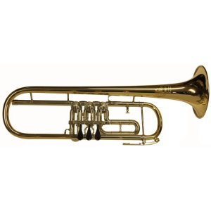 Second Hand B&S Rotary Valve Trumpet
