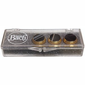 Bach gold valve top button set Sardonyx