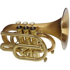 CarolBrass CPT 3000 GLSD Bb SLB Pocket Trumpet