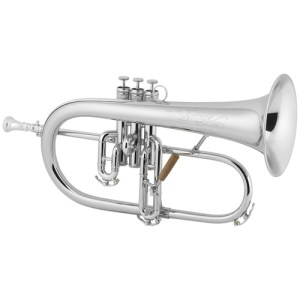 Conn 1FRSP Vintage One Silver Plated Flugel Horn