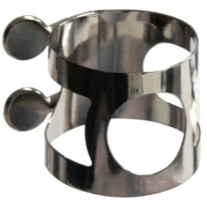 Nickle plated tenor sax ligature