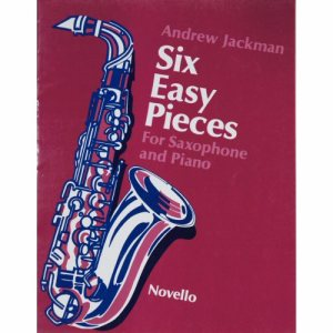 Six Easy Pieces Alto Sax