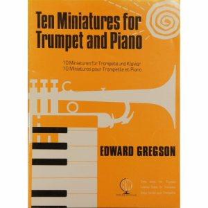 Ten Miniatures Trumpet Gregson