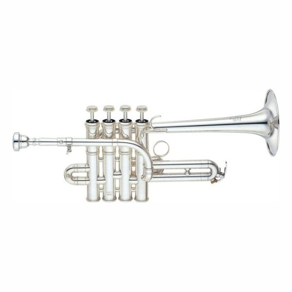 Yamaha YTR 9835 Long 4 Valve Piccolo Trumpet
