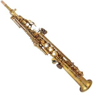 System 54 Soprano Sax 2 necks Pure Brass