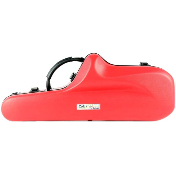 BAM Cabine alto sax case peony red