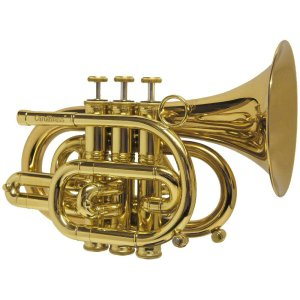 CarolBrass CPT-3000-YLS-Bb-L Pocket Trumpet