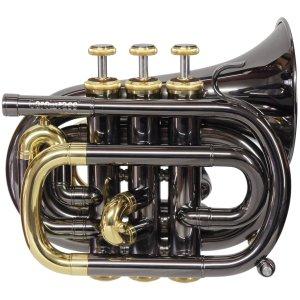 CarolBrass CPT-1000-YSS-Bb-BLL Mini Pocket Trumpet