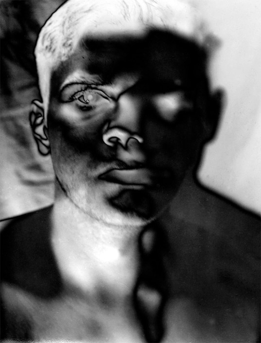 Self-Portrait as Man Ray (2)