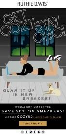 Ruthie Davis: Get Cozy Stay Chic