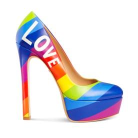 Pride Pump / Shoe Design for Ruthie Davis