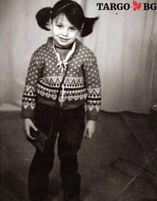 Диляна Попова като дете