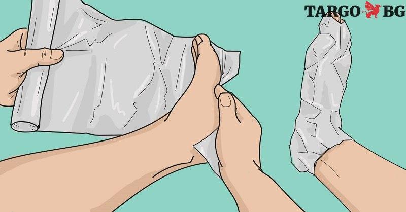 Отнесох сума подигравки вкъщи, когато увих краката си с фолио. Но след час… Е, дори и лекарят ми призна, че е изумен!