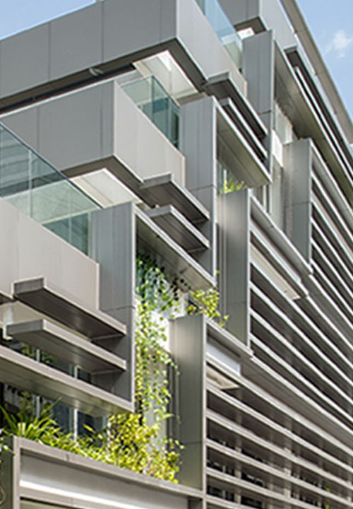 green architects designed for 24 storey office