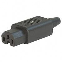 Cord Cap – Power Entry Plug IEC320-C15 STR Screw