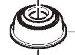 Gas Machine – Dome cover Exhalation valve for VSM Gas machine