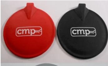 Electrode pads – PROCARBON IFC (2/pkg), 4.0″ (95 mm), Round