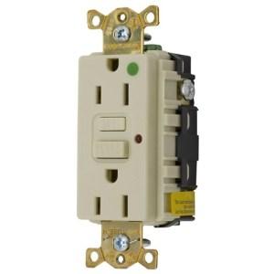 Electrical – GFCI (Commercial Grade 120V 15A Ivory)