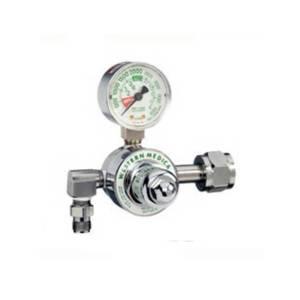 Gas Regulator – Western (Oxygen) , K-Tank, Single Stage, Pre-Set 50PSI